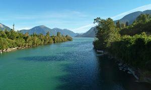 Río Palena, La junta, Aysen, Chile