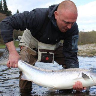A cracking Scottish spring salmon.