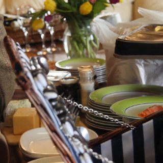 We provide a variety of riverside catering options.
