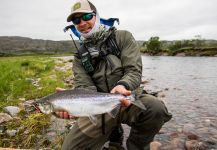 Fly-fishing Pic of Pink salmon shared by Morten Jensen | Fly dreamers