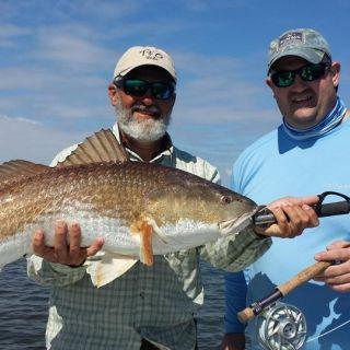 Dan Star's personal best redfish.