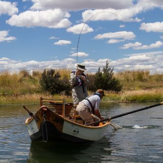 Drift fishing the Macquarie River