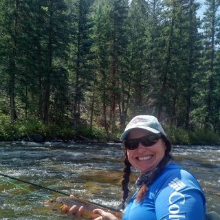 Sharing a day with a Patricia on the Taylor, Colorado