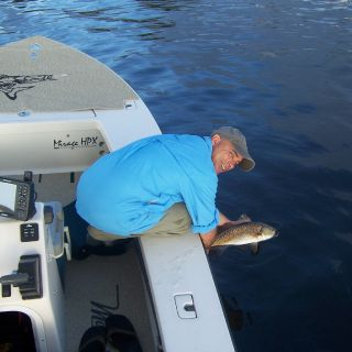 releasing another redfish