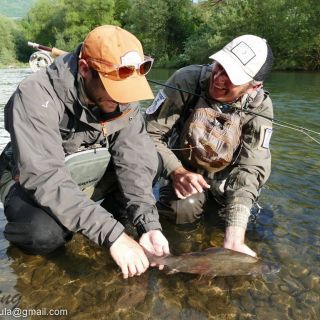 Grayling, Guest & Guide in Montenegro