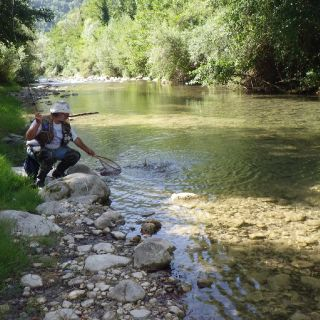 One of the best river in Central Southern Italy. Browns, rainbows, brooks, chubs and a few graylings in the lowest stretch.