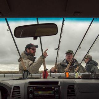 planning the fishing