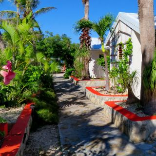 Individual, one bedroom villas just perfect for fishermen and their families.