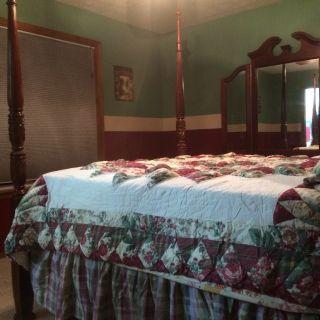 Master bedroom lodge