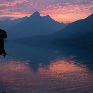 Fortress Lake sunset