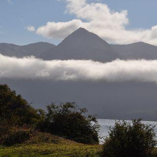 Landscape on Bombilla lagooon