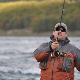 Enjoy fishing day