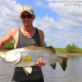 barra get big! this 98cm model really put on a show