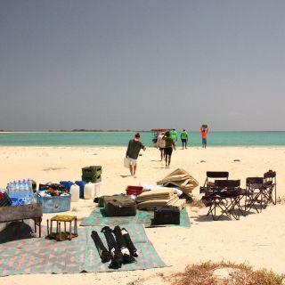 Setting camp in Eritrea