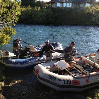 Flotada de Pesca en Chimehuin