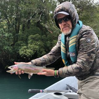 Head Guide with a Rainbow