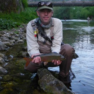 Grayling - flag ship of Slovenian fly fishing
