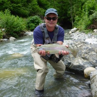 Alpine streams - home of fighting trout!