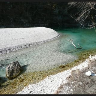 Virgin beaches of unknown Slovenian fly fishing rivers..