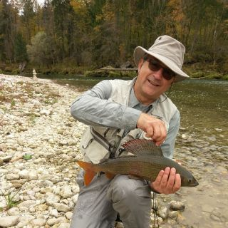 Halloween, October 31st gave this 52-er to a lucky angler! Sava river - Slovenia