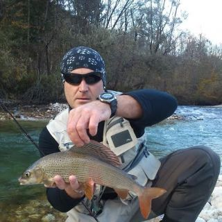 Fauna Fly Shop Guide warming up before the main season kicks in! Sava Dolinka river- Slovenia