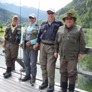 Meet your friends - in Slovenia, possibly on a fly fishing Guided tour!