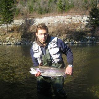 Midst of month November - Sava Bohinjka river.. still plenty to do if you are a fly fisherman..