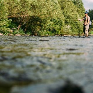Summer-fishing for Trout and Grayling