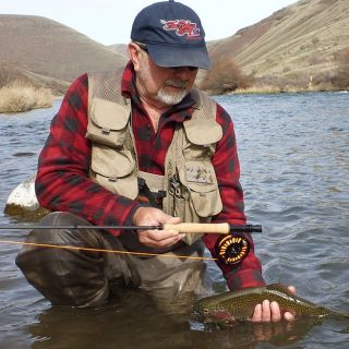 March-June is the best time to try Euro Nymphing on Oregon's Deschutes River.