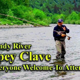 Friday is Beginner's Day at the Sandy River Spey Clave: cost $10 for a Spey Casting Lesson. May 3-4, 2019.