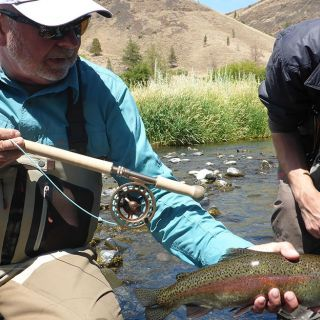 Spey fishing for trout is a sport that is growing rapidly in Oregon. Call The Fly Fishing Shop in Welches, Oregon to find out where and how: 800-266-3179