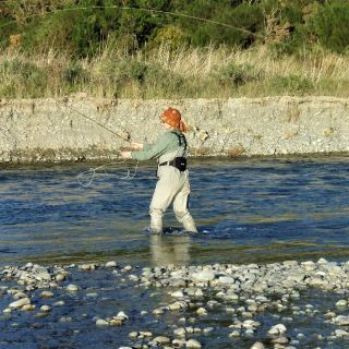 Fly fishing on the beautiful Oreti River is on many peoples 'bucket list'