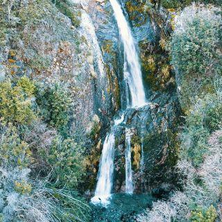 Waterfalls near to lodge
