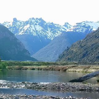 Desierto Lake and Cerro Castillo