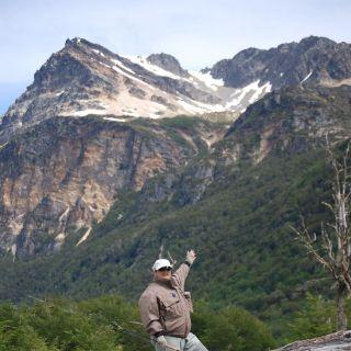 Marcelo Ziegler enjoying the landscape