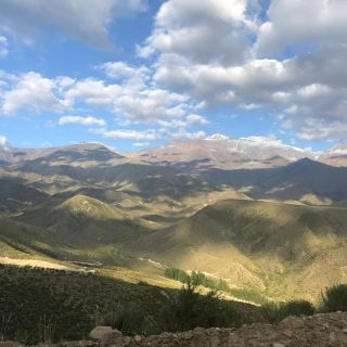 Stunning views of the Andes