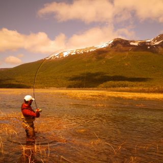 Fall light in the back country on Rio Pico Trout Bum program