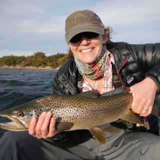 Lago Uno hopper sipper brown