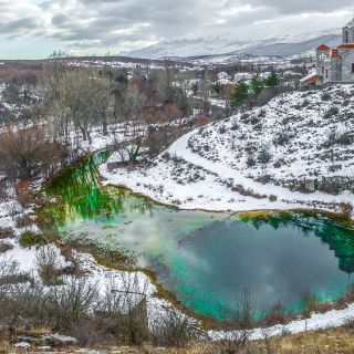 Cetina river Spring