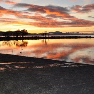 Morning on Palacios Lagoon
