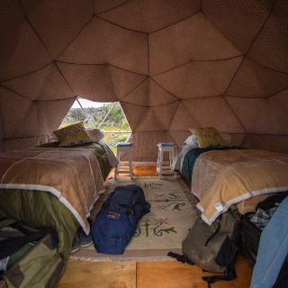 Glamping as an option in our trips