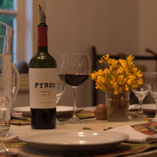 Some of Argentines finest wines served with traditional meals