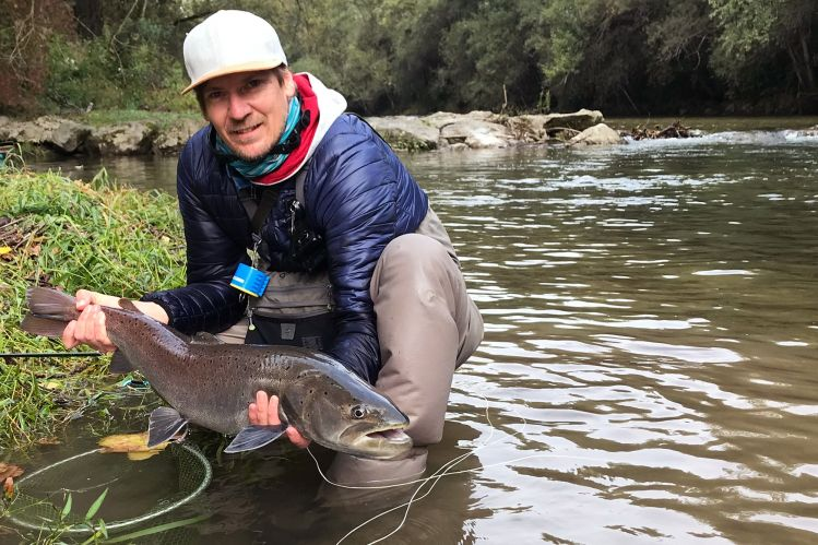 Fly-fishing in Slovenia with Flyfishingodec | Danube Salmon is gone..?