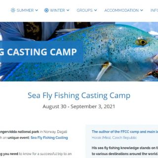 I am a lecturer of the  sea fly fishing casting camp in Norway:  https://dagalifjellpark.no/en/evevents-courses/sea-fly-fishing-casting-camp/