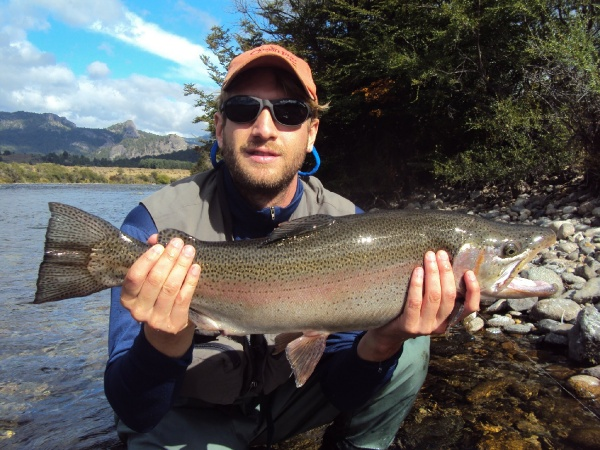Arroyo Verde Rainbow Trout in <strong>Patagonia</strong> - Fly dreamers