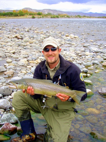 Brown trout in <strong>Patagonia</strong> rivers - Fly dreamers