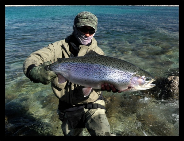 Karim Jodor 's Fly-fishing Catchof a Rainbow trout– Fly dreamers