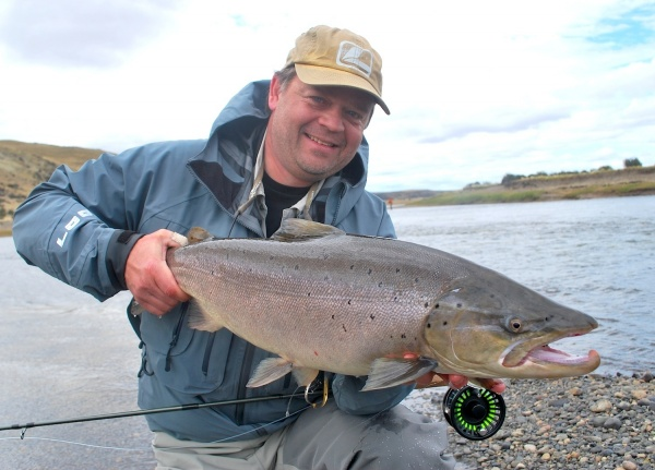 Per Brännström 's Fly-fishing Photo of a Brown trout – Fly dreamers