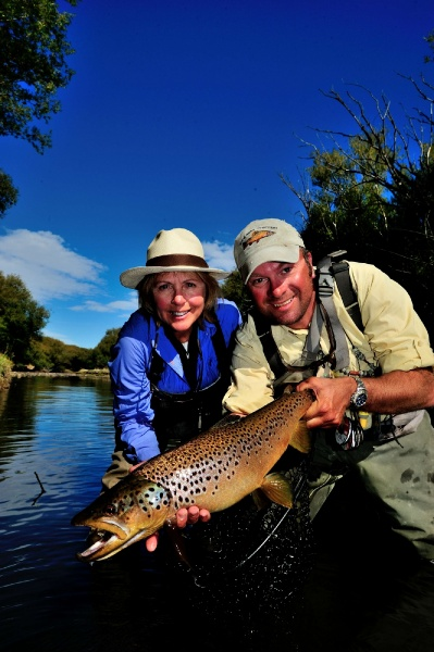Jorge Trucco 's Fly-fishing Photo of a Brown trout – Fly dreamers
