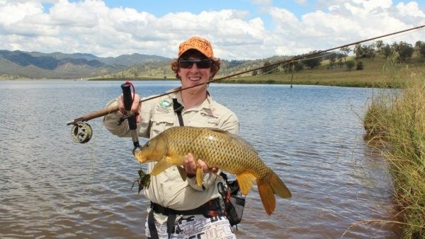 Ben Hohnke 's Fly-fishing Catch of a Carp – Fly dreamers